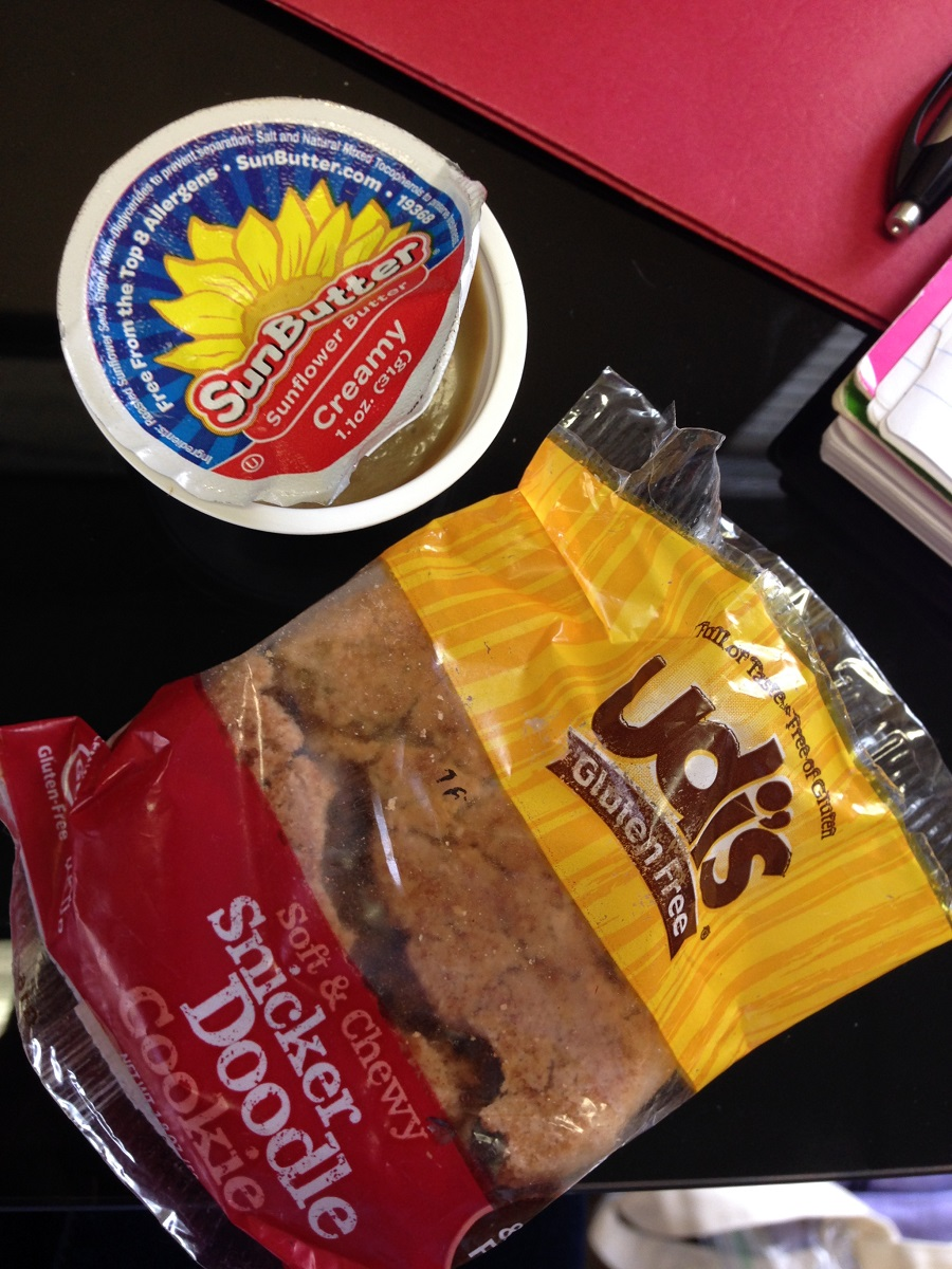 afternoon snack, WIAW, cookies
