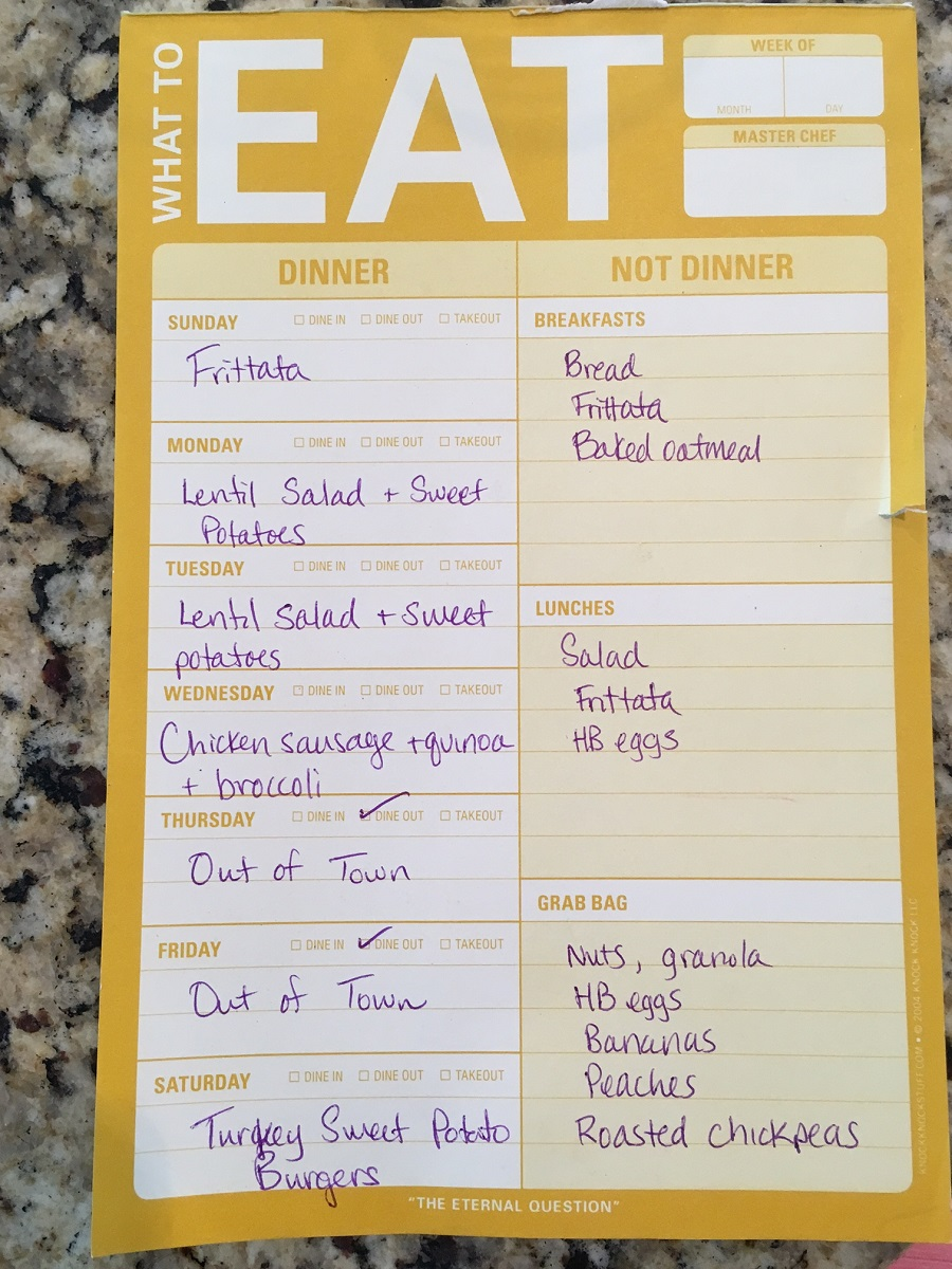How to start Meal Planning || Easy tips for meal planning