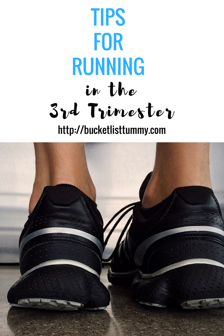 Running in the 3rd Trimester
