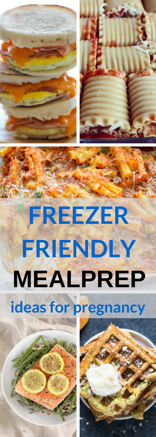 Looking to stock up on freezer meals during pregnancy? Here are some great freezer friendly meal prep ideas | Pregnancy | Meal Prep, Freezer Meals