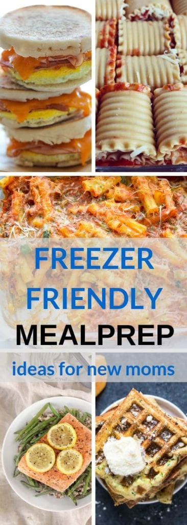 These freezer meals for new moms will come in handy in preparing for a baby! Great for pregnant women and new moms alike, they are healthy, easy and convenient.